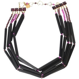 Image of Purple Necklaces