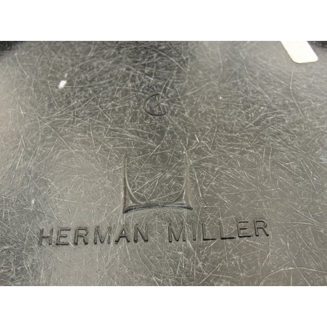 Mid-Century Herman Miller Yellow Bar Stool - Image 7 of 8