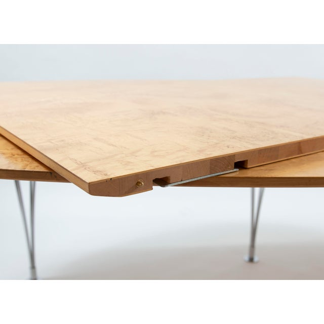 Danish Modern Bruno Mathsson Conference or Dining Table For Sale - Image 9 of 12