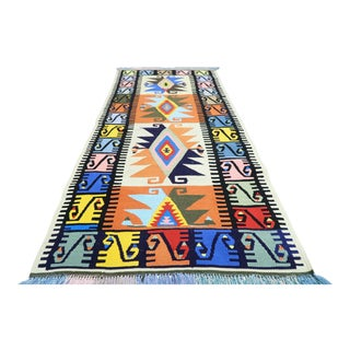 Mid 20th Century Turkish Rug-3′ × 6′5″ For Sale