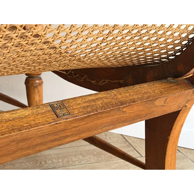 Bauer Early 20th Century Antique Bauer Plantation Chaise Lounge For Sale - Image 4 of 13