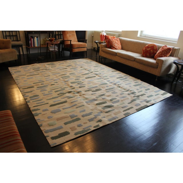 Early 21st Century Barry Goralnick Collection for Stark Dashes Area Rug - 8′ × 10′ For Sale - Image 5 of 5