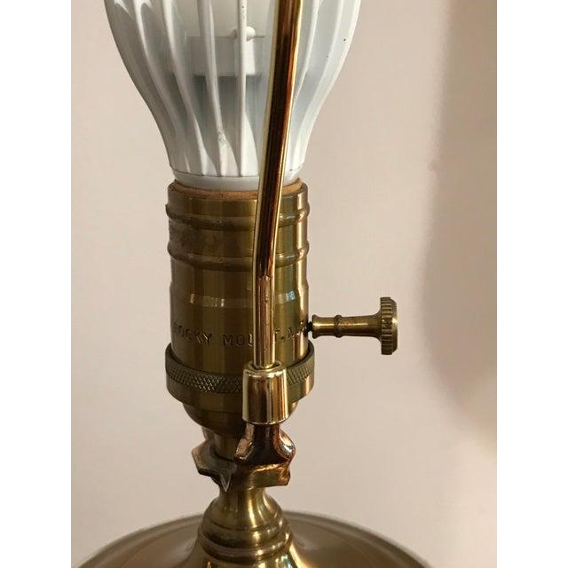 Vintage Wildwood Bamboo Ginger Jar Porcelain Table Lamp - Image 4 of 8