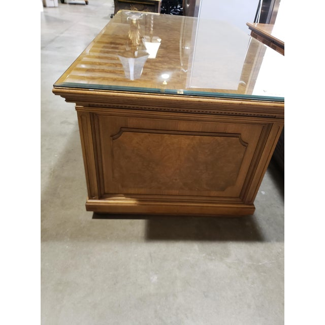 Modern 20th Century Traditional Jasper Morrison Walnut Executive Desk For Sale - Image 3 of 8