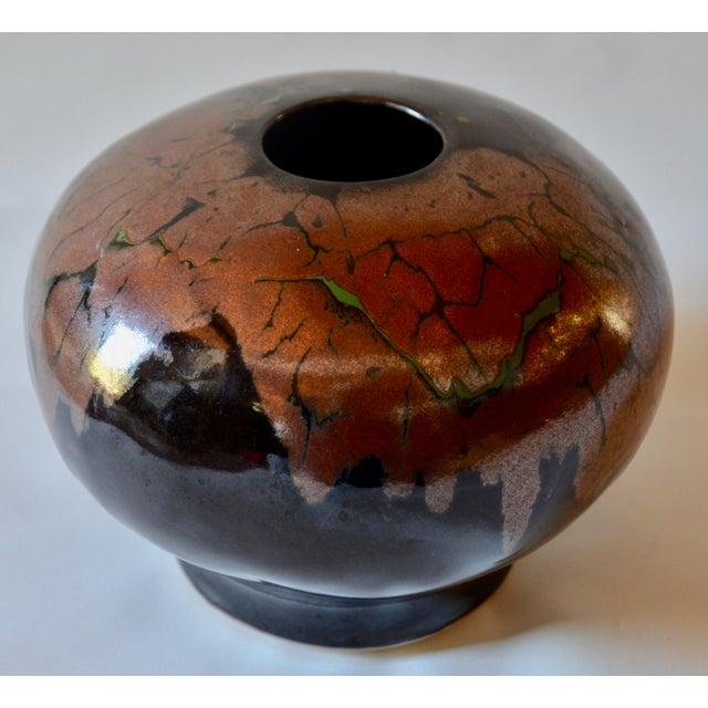 Mid Century Modern Ceramic Pot For Sale - Image 10 of 12