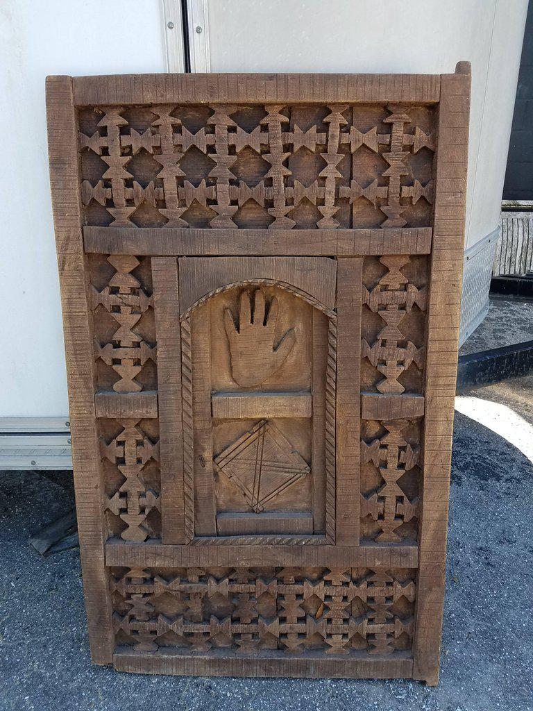 Ifni Brown Moroccan Door - Image 2 of 6  sc 1 st  Chairish & Ifni Brown Moroccan Door | Chairish