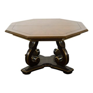 Octagonal Italian Center Table by Henredon