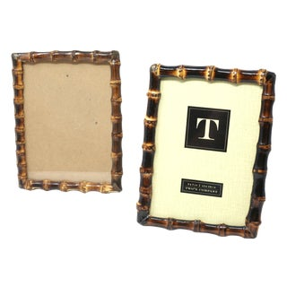 Real Bamboo 5x7 Picture Frames - a Pair For Sale