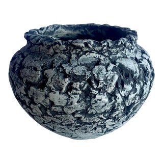 Handcrafted Ceramic Vase For Sale