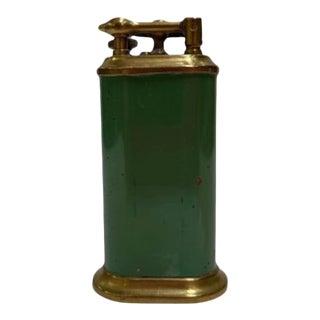 1930s Brass Lift Arm Table Cigarette Lighter by Park Sherman For Sale