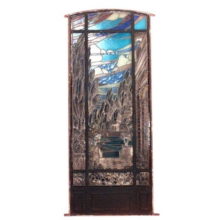 19th Century Italian Renaissance Stained Glass Window For Sale