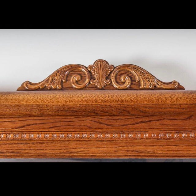 Lexington Victorian Sampler Collection Dresser With Mirror For Sale - Image 9 of 10