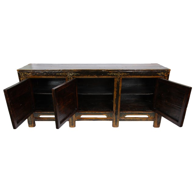 19th-C. Mongolian Tiger Sideboard - Image 3 of 3