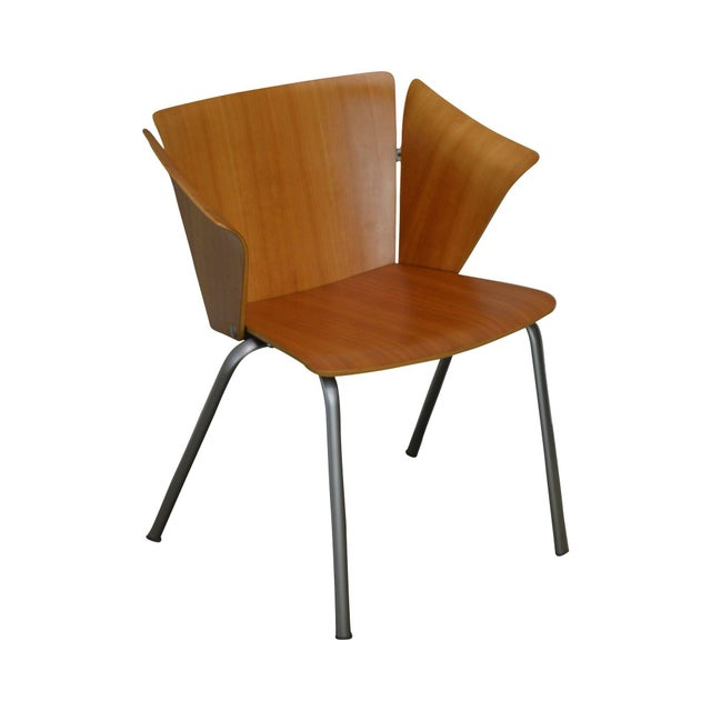 Vico Magistretti for Fritz Hansen Danish Modern Armchair For Sale - Image 13 of 13