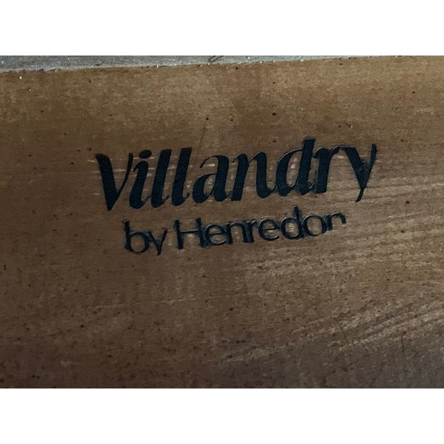 1980s Louis XVII Henredon Villandry Collection Side Table For Sale In Los Angeles - Image 6 of 7