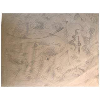 Drawing by Gordon Onslow Ford For Sale