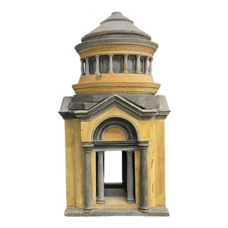 Model of a Palladian Building For Sale