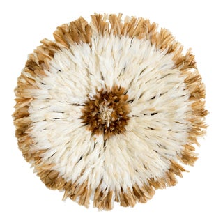 Tan & White Juju Hat