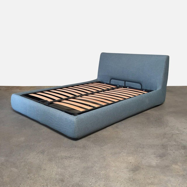 Mid-Century Modern Design Within Reach 'Nest' Storage Full Bedframe For Sale - Image 3 of 6