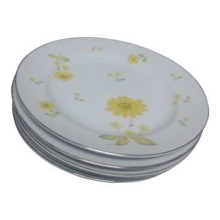 Sheffield China Salad Plates - Set of 4