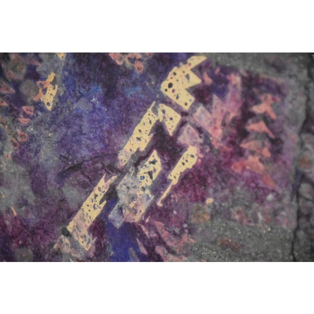Purple Abstract Modern Art For Sale In Boston - Image 6 of 10