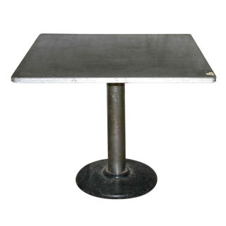 Square Metal Table For Sale