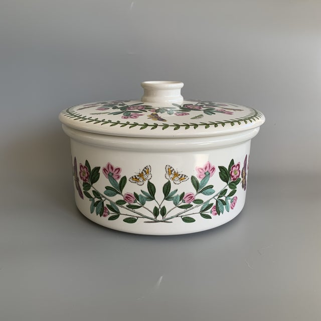 English Ceramic Portmeirion Susan Williams-Ellis, Botanic Garden, Covered Casserole / Souffle, Tureen / Vegetable Bowl in...