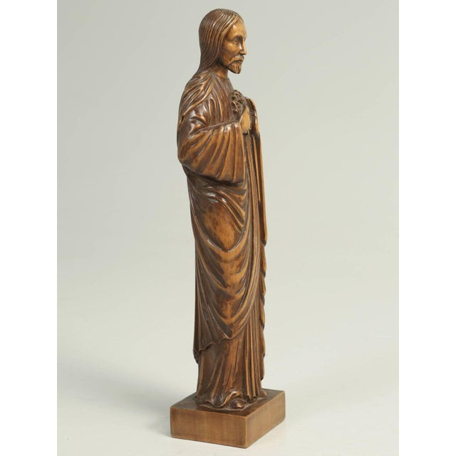 Wood Carving by the French Sculptor R. Vergnes, Circa 1949 For Sale In Chicago - Image 6 of 9