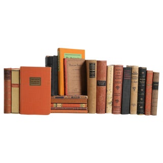 Vintage German Language Book MIX - Set of Twenty Decorative Books For Sale