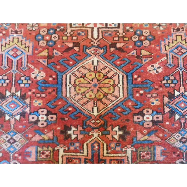This is a beautiful vintage Heriz. The Heriz rugs continue to be among the most consistent, and popular weaving of the...