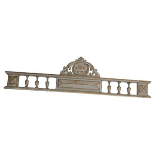 Antique French Wall Pediment For Sale