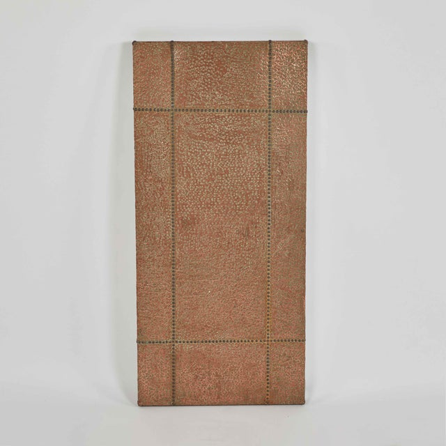 Mid-Century Copper and Brass Panel From France For Sale In Los Angeles - Image 6 of 6