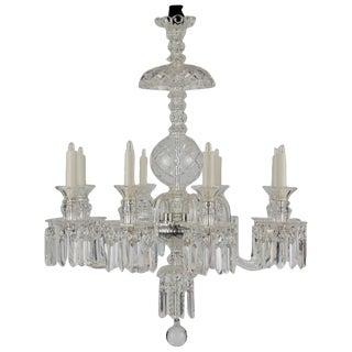 Vintage Crystal Chandelier For Sale