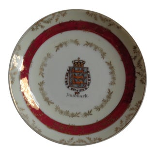 "Mid-Century ""Danmark"" Trinket Bowl or Dish For Sale"