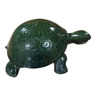 1940s Vintage Gladding McBean Garden Turtle For Sale