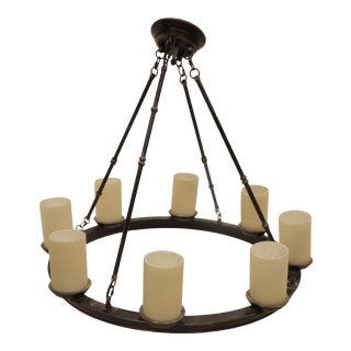 Large Ring Chandelier From Visual Comfort For Sale