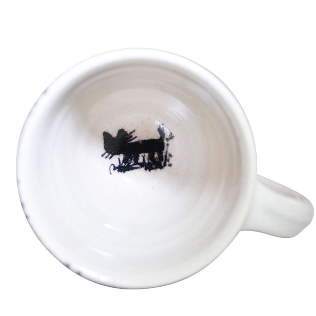 Early 21st Century Dutch Canal Home Design Handmade Espresso Cups With Saucers - Set of 4 For Sale - Image 5 of 7