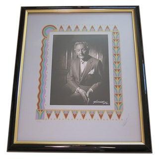 Hurrell Portrait Photo of Erte - Signed For Sale