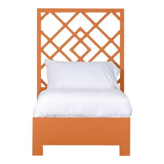 Darien Bed Twin Extra Long - Orange For Sale