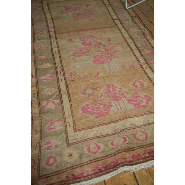 """Pink Vintage Oushak Rug - 4' x 7'6"""" For Sale - Image 8 of 10"""