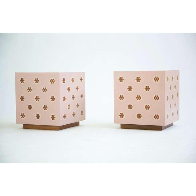 Modern Pair of End Tables For Sale - Image 3 of 10