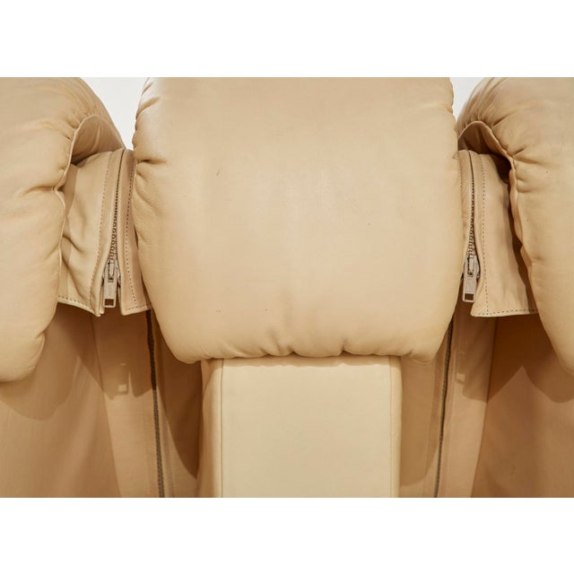 Matched Pair of De Sede Ds600 Non-Stop Leather Sectional Sofas For Sale - Image 10 of 13