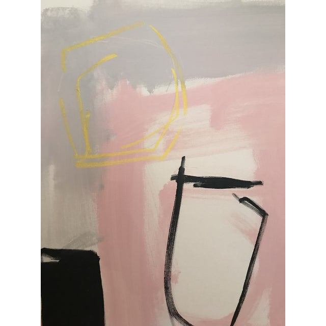 "Sarah Trundle ""Trappings"" Contemporary Abstract Painting For Sale - Image 4 of 6"