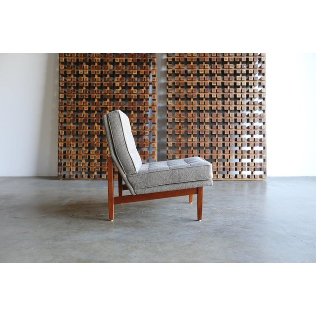 Mid Century Florence Knoll Slipper Lounge Chairs - a Pair For Sale - Image 10 of 12