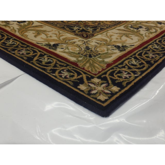 Savonnerie Style Wool Rug - 8′4″ × 11′6″ - Image 4 of 4