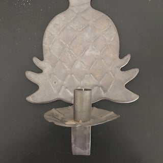 Vintage Pineapple Metal Candle Sconce Preview
