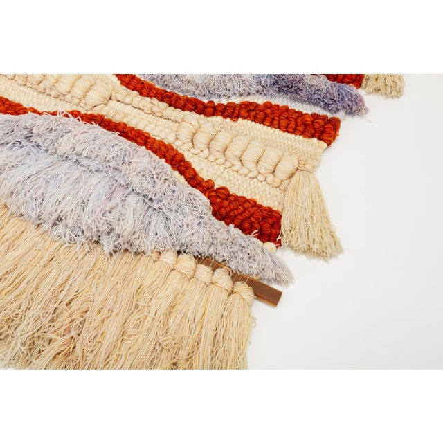 California Fiber Arts Wall Hanging by Margo O'Connor For Sale In Los Angeles - Image 6 of 8