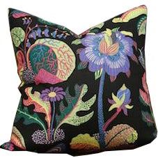 Josef Frank Exotic Butterfly Pillow Cushion, Floral - Image 1 of 4