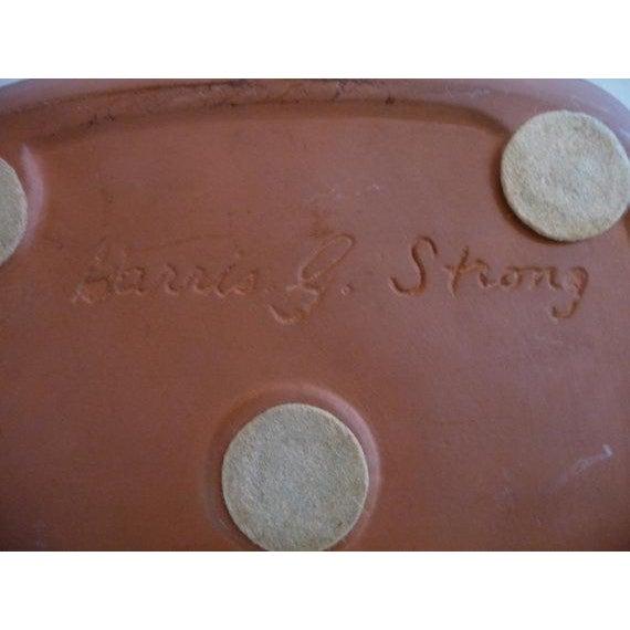 Harris Strong 1960s Mid-Century Modern Harris G Strong Ram Ceramic Platter For Sale - Image 4 of 5