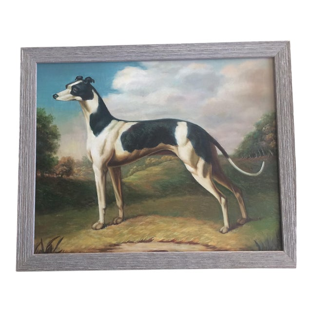 Greyhound Dog Painting For Sale